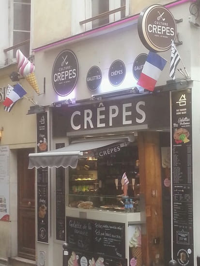 Culture Crêpes  - Paris saint Michel culture crepes 1 -   © culture crepes
