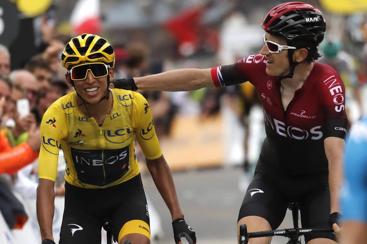 Tour de France: Bernal en jaune, Alaphilippe redescend au classement