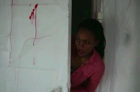 Une scène de crime reconstituée pour une caméra cachée terrifiante