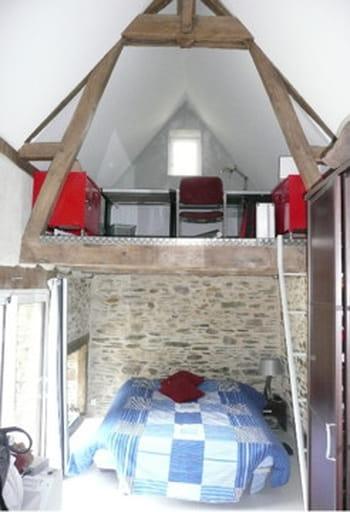 Chambre avec mezzanine - Amenagement mezzanine chambre ...