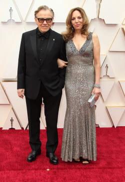 Harvey Keitel et sa femme, Daphna Kastner lors de la 92e cérémonie des Oscars