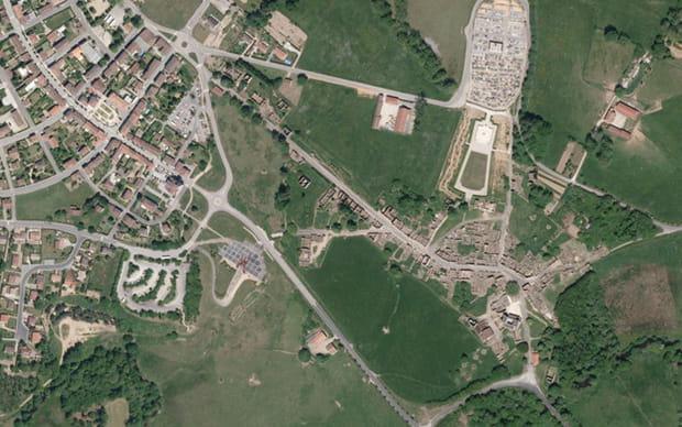 L'ancien village et le nouveau bourg