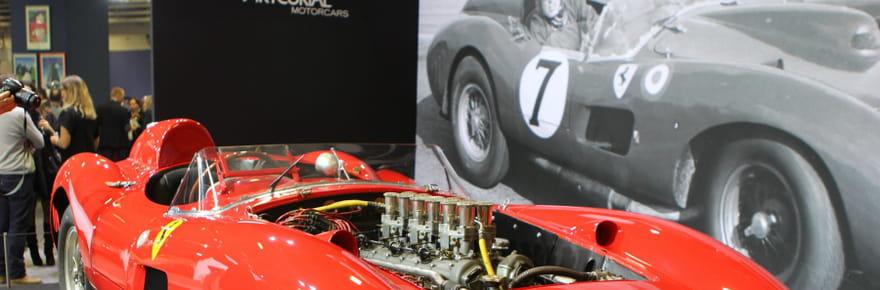 Rétromobile : une Ferrari de légende vendue 32 millions d'euros aux enchères
