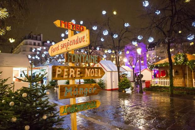 Un nouveau marché de Noël aux Halles