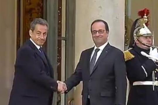 François Hollande: comment il s'est joué del'égo deNicolas Sarkozy