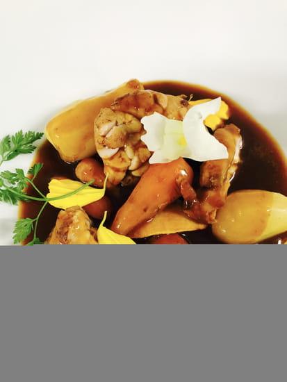 Plat : Restaurant MC  - ris de veau -   © 1