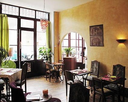 "L'Arbre à Thé  - Restaurant végétarien ""L'Arbre à thé"" -   © vm"