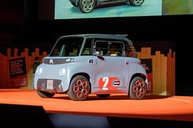 Citroën dévoile la petite Ami, les photos