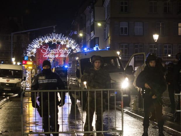 Après l'attentat de Strasbourg, les images