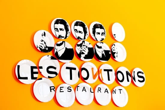 Les Tontons Restaurant  - Logo Intérieur -   © Emilie Rouaud