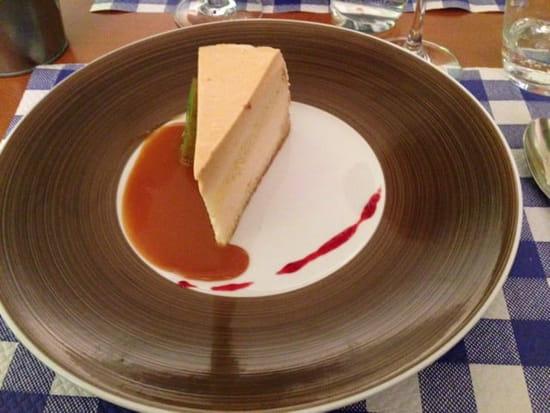 Dessert : Le 7  - Bavarois de poires caramélisées  -