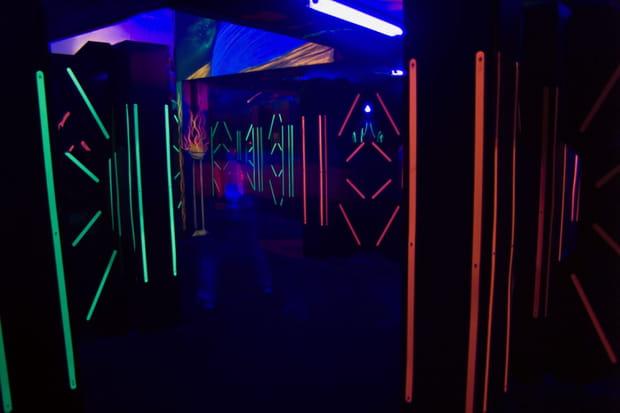 Un laser game pour les grands enfants