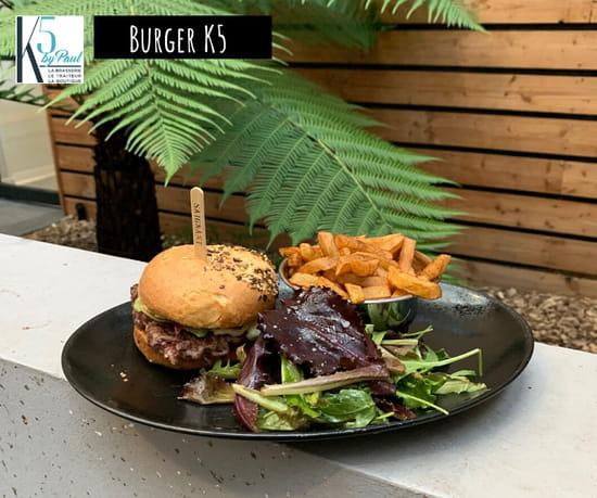 Plat : K5 by Paul  - Burger K5 -   © 10