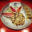 Ô Canelot  - Rouget au basilic risotto petit légumes Ô Canelot -