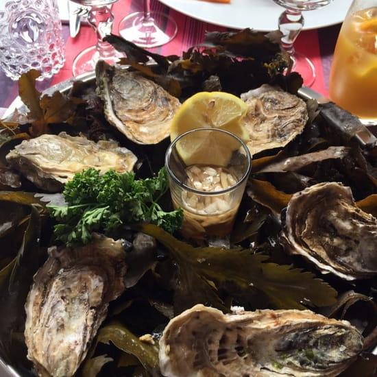 Entrée : LE BICORNE  - 6 huîtres cat 3 -