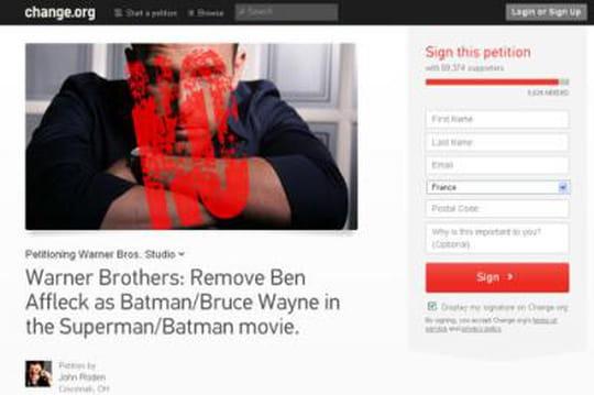 Ben Affleck: lenouveau Batman ne fait pas l'unanimité