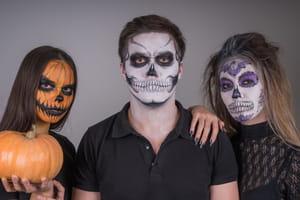 Maquillage d'Halloween pour homme et femme