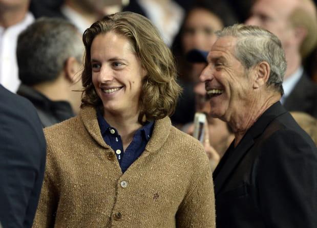 Pierre Sarkozy et Jean-Claude Darmon