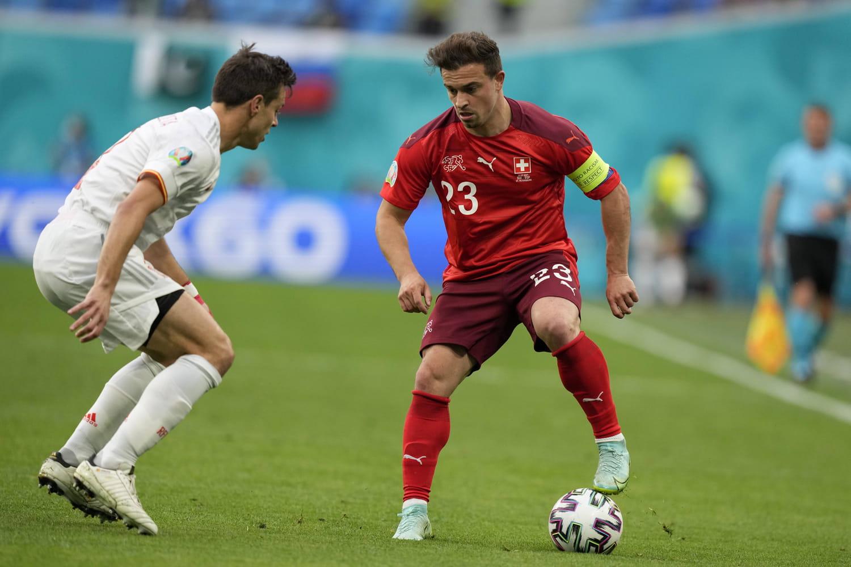 Suisse - Espagne : Shaqiri égalise et fait douter la Roja, le match en  direct