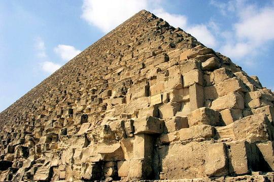 L'imposante pyramide de Kheops