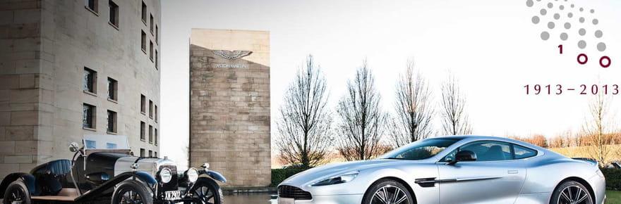 L'histoire d'Aston Martin à travers 30modèles légendaires