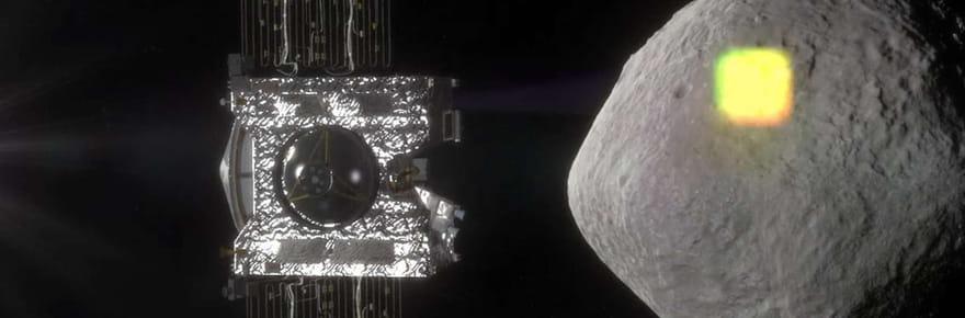 La sonde Osiris-Rex a réussi à approcher l'astéroïde Bennu, les images