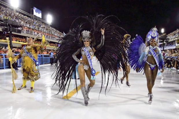 Le défilé des écoles de samba