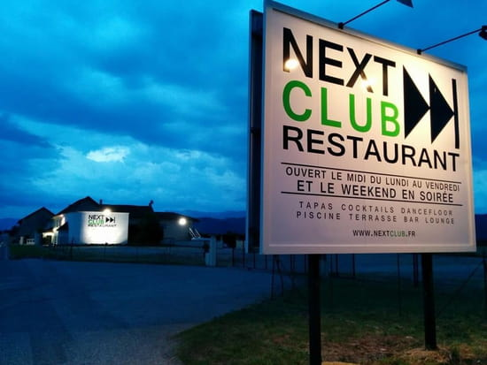 Next Club Restaurant  - Parking -