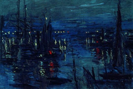 Le Port du Havre, effet de nuit, 1873