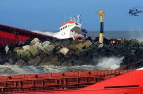 Cargo échoué à Anglet: lesimages