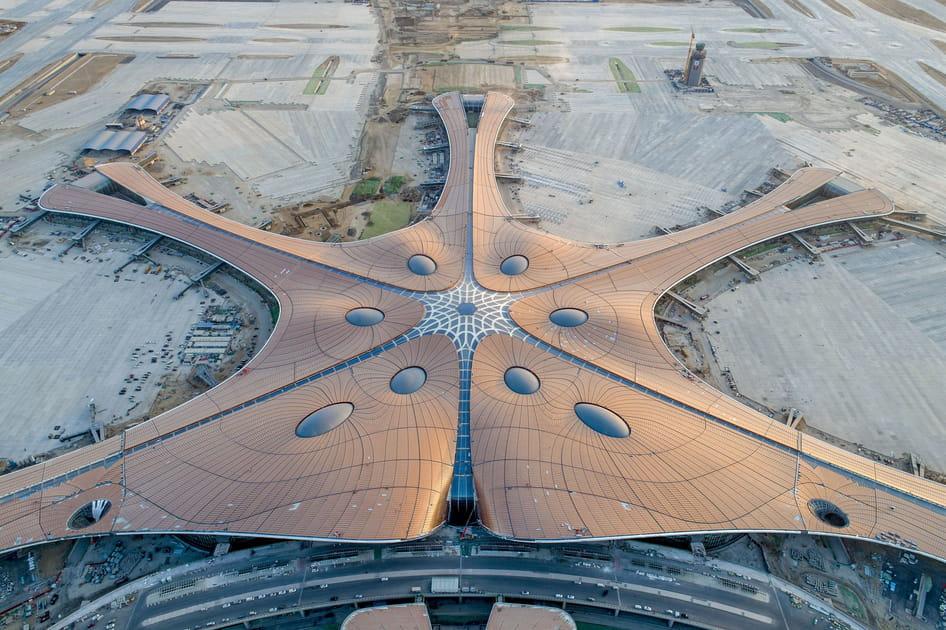 Fin des travaux du nouvel aéroport international Daxing de Pékin