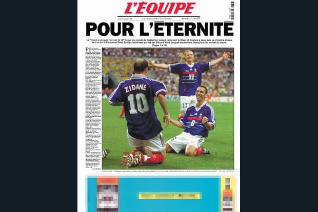 """France-Brésil 1998 : """"Pour l'éternité"""""""