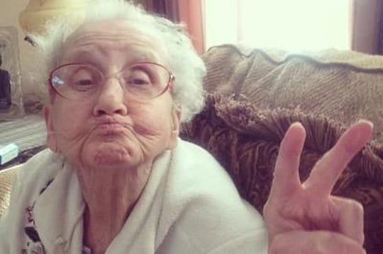 Betty, la mamie star d'Instagram