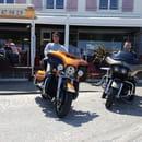 Crêperie de Lodonnec  - Nos amies Harley Davidson de passage -   © Anthony Lefrançois
