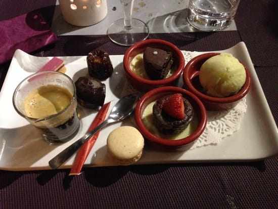 Dessert : Blues Beach  - Café Gourmand -