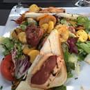 Plat : Au Bureau  - Salade périgourdine -