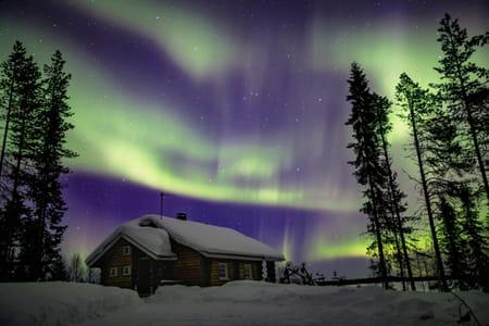 aurore boreale finlande