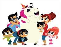 Va-t'en, licorne ! : Licorne, le robot ! / Licorne et boule de poils !