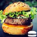 Plat : Luvin's Burger  - Burger – Le Roquefort -   © Luvin's Burger