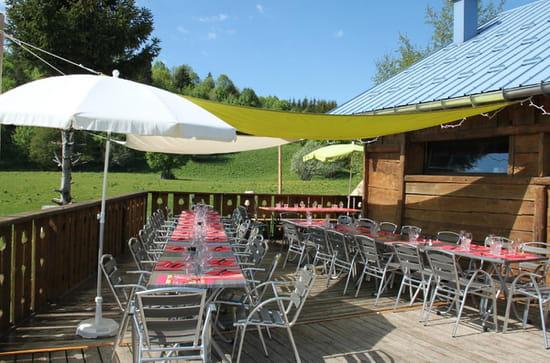 Restaurant : Le Chalet du Sire  - Terrasse -   © Chalet du Sire