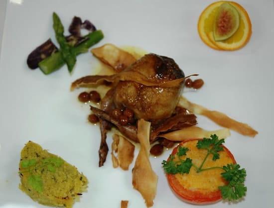 Le Galopin Gastronome  - Caille désossée farcie au foie gras -