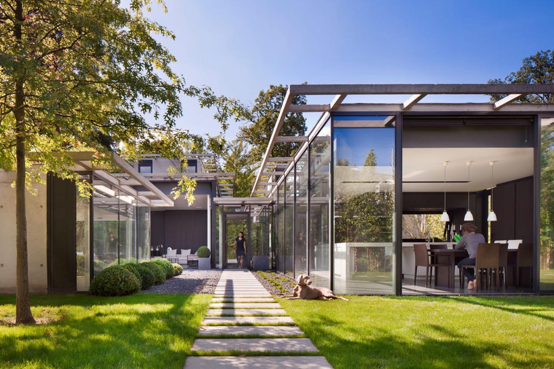 Les plus belles maisons contemporaines de 2013 for Photos de maisons contemporaines