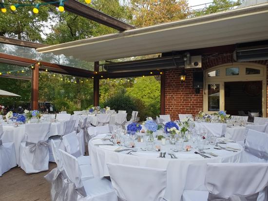 Restaurant : La Terrasse du Jardin  - Diner de mariage -   © La Terrasse du Jardin