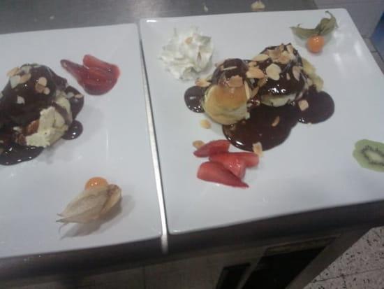Dessert : Le Beauséjour  - profiteroles -   © 10