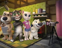 Talking Tom and Friends : Couple qui clash