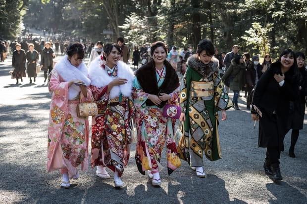 Le jour d'accès à la majorité au Japon
