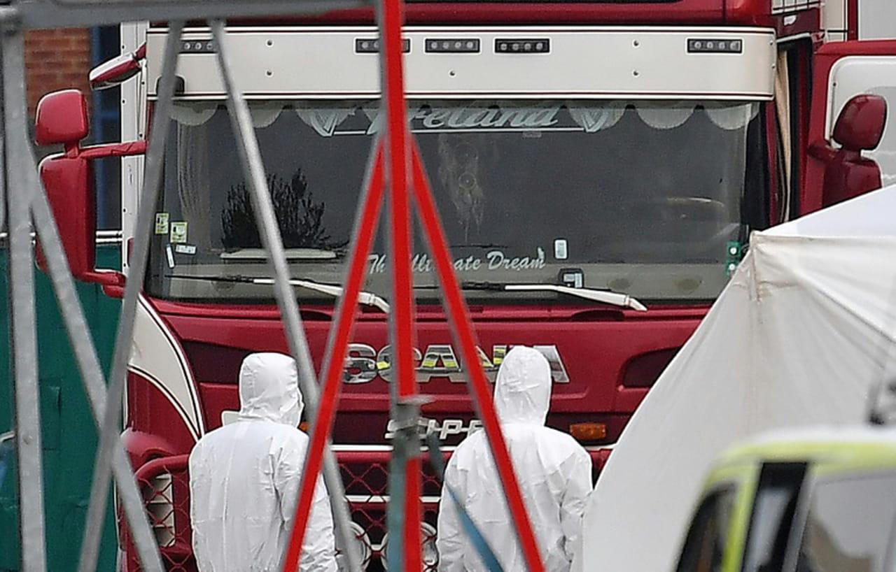 Royaume-Uni: les 39morts retrouvés dans un camion étaient Chinois