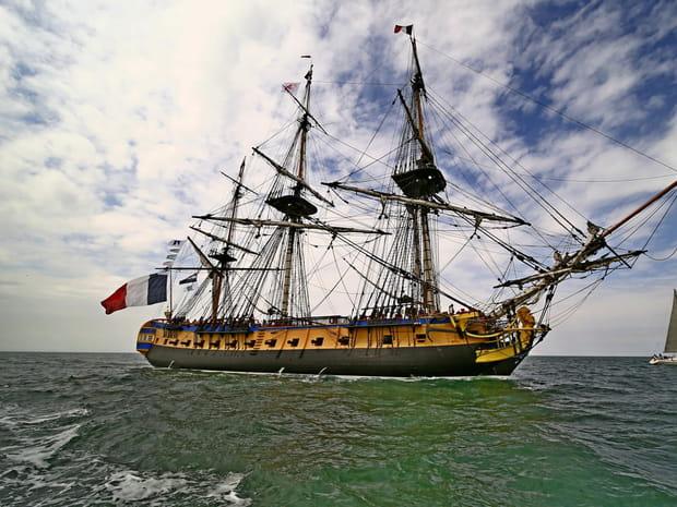 Les plus beaux bateaux de l'Armada de Rouen