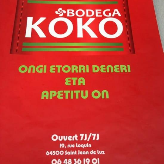 Restaurant : Bodega koko