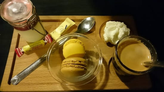Dessert : La Romane  - Café duo -